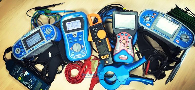 приборы нашей электролаборатории
