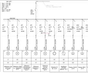 составление однолинейных схем