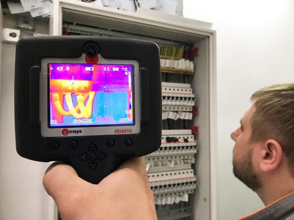 тепловизионное обследование электрощитов
