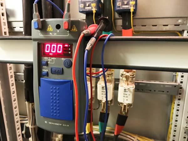 Приёмо-сдаточные испытания электроустановок