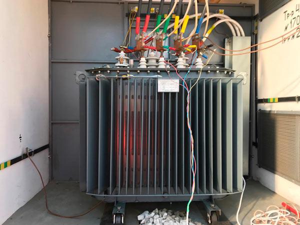 испытание силового высоковольтного трансформатора