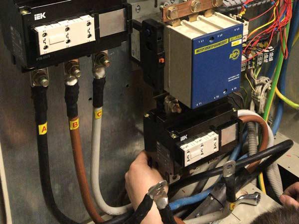 Подключение тепловой защиты на электродвигатели