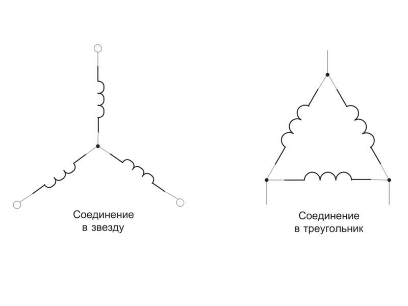схема звезда и треугольник