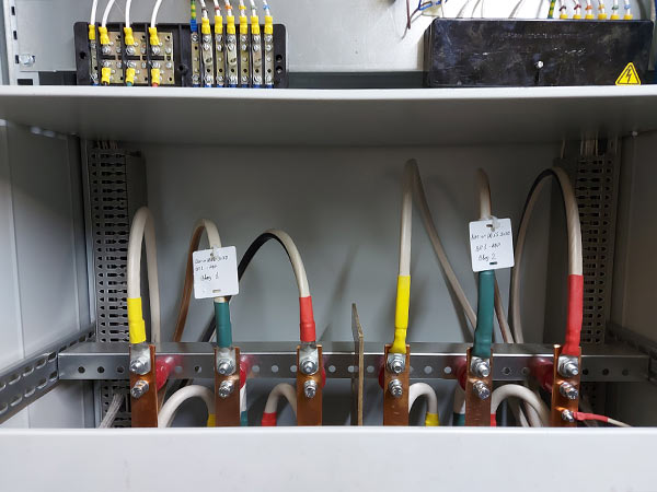 Сборка электрощита АВР для ЦОД